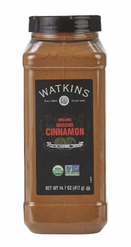 Watkins Organic Ground Cinnamon Perspective: front
