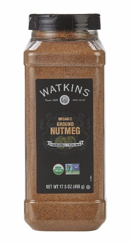 Watkins Organic Ground Nutmeg Perspective: front