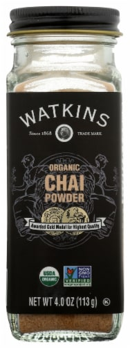 Watkins Organic Chai Powder Perspective: front