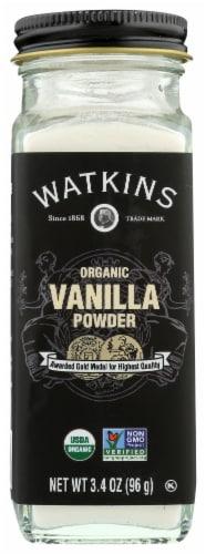 Watkins Organic Vanilla Powder Perspective: front
