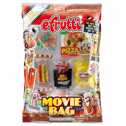 efrutti Movie Bag Candy Perspective: front