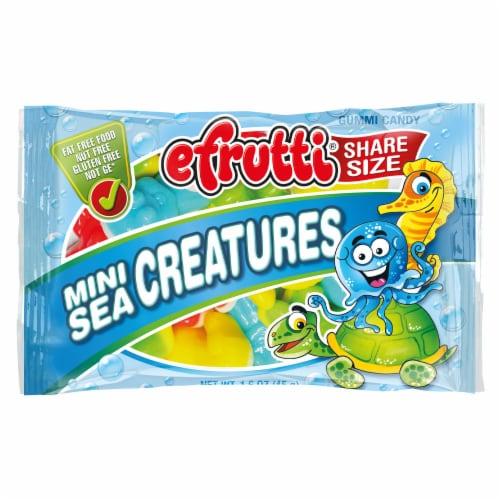 efrutti Mini Sea Creatures Gummi Candy Share Size Perspective: front