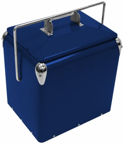 Creative Outdoor Retro 13L Cooler - Royal Blue Perspective: front