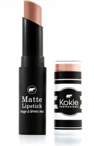 Kokie Professional Matte Sienna Lipstick Perspective: front