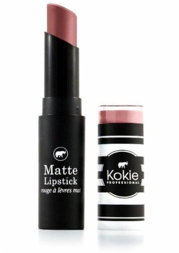 Kokie Professional Blush Beige Matte Lipstick Perspective: front