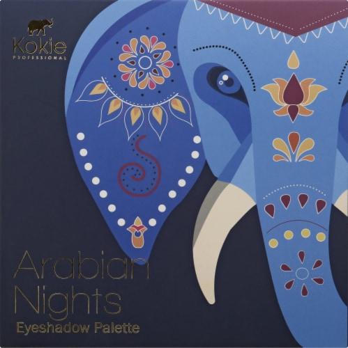 Kokie Professional Arabian Nights Essential Eyeshadow Palette Perspective: front