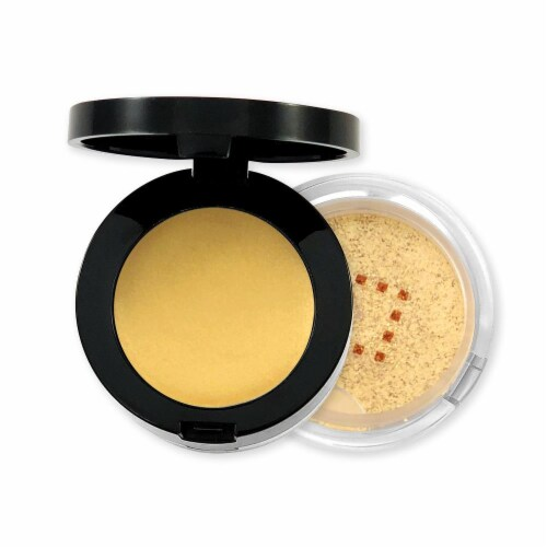 Kokie Professional Steal the Show Cream Metallic Eyeshadow Perspective: front