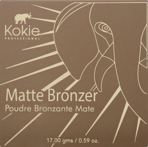 Kokie Professional Heatwave Matte Bronzer Perspective: front