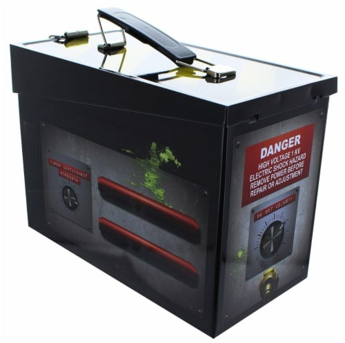 Ghostbusters Ghost Trap Tin Lunch Box Perspective: front