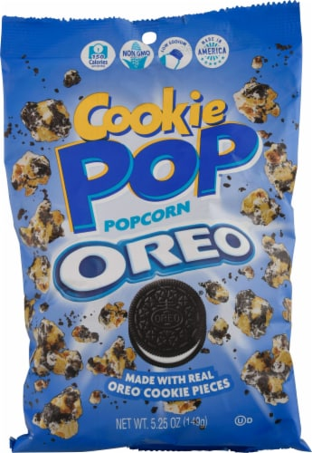 Oreo Cookie Pop Popcorn Perspective: front