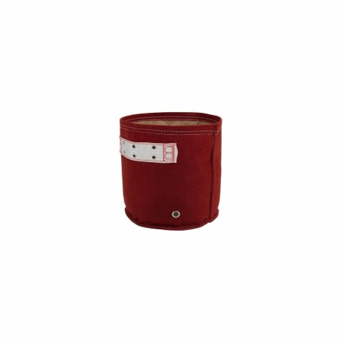 Bloem RCCL512 5 gal Classic Planter Union - Red Perspective: front