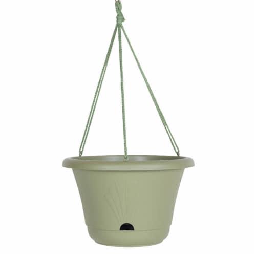 "Bloem Lucca Self Watering Hanging Basket, 13"", Living Green Perspective: front"