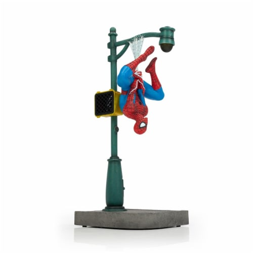 "Marvel Spider-Man Collector Statue | Interactive Spider-Man Figure | 14"" Tall Perspective: front"