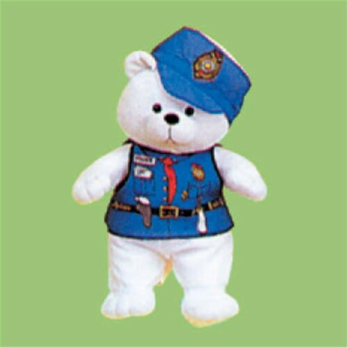 Dexter DEX 207 - Police Doll Costume Perspective: front