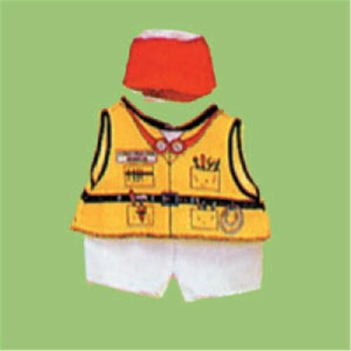 Dexter DEX 208 - Construction Doll Costume Perspective: front