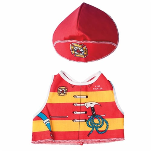 Dexter Educational Toys DEX1210 Fire Fighter Dress Up For Dolls And Teddy Bears Perspective: front