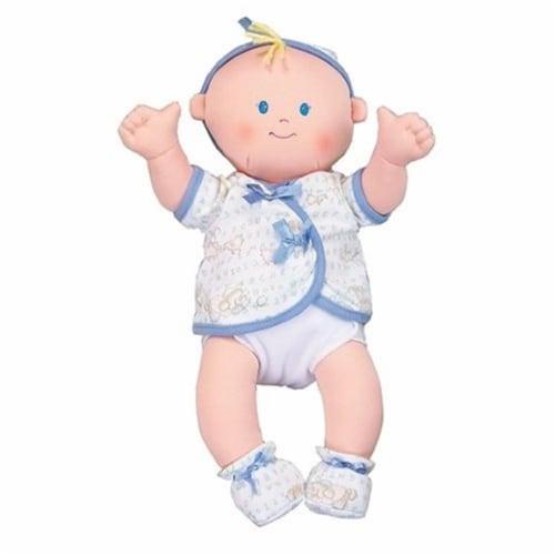 Dexter Toys DEX1501B Caucasian Baby Blue Clothes Perspective: front