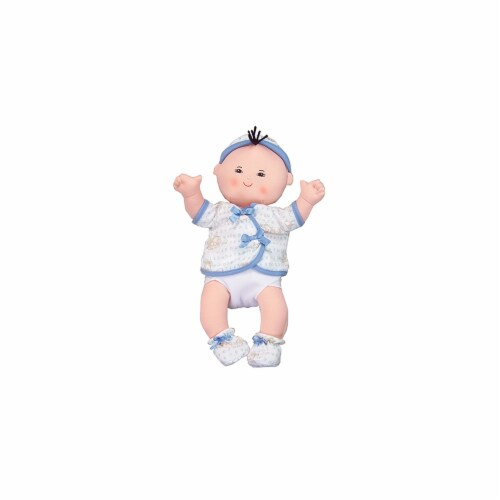 Dexter Educational Toys Dex1503B Asian 15 In Baby In Blue Perspective: front