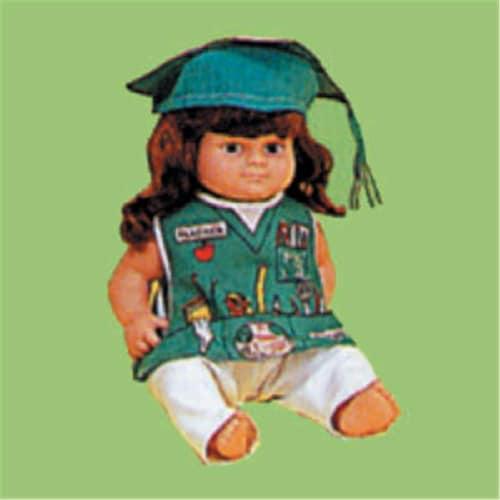 Dexter DEX 206 - Teacher Doll Costume Perspective: front