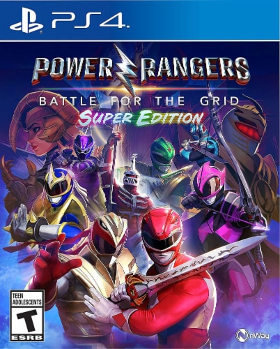Power Rangers: Battle For The Grid Super Edition (PlayStation 4®) Perspective: front