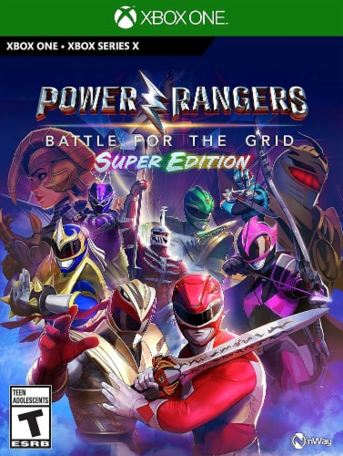 Power Rangers: Battle For The Grid Super Edition (Xbox One) Perspective: front