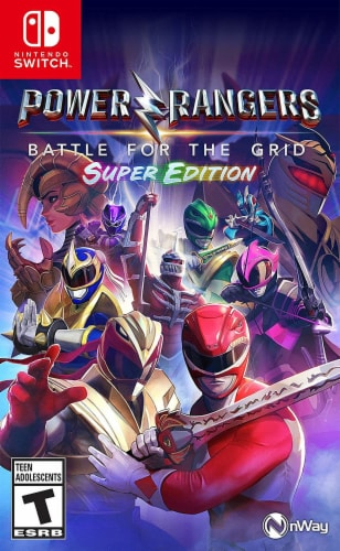 Power Rangers: Battle For The Grid Super Edition (Nintendo Switch™) Perspective: front