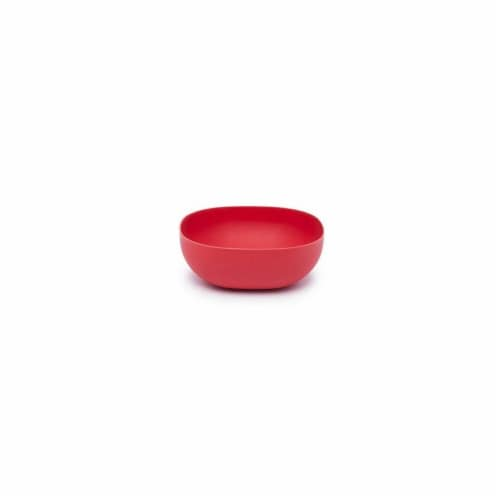 Bamboozle BZ0204PB 9 in. Party Bowl, Autumn Red Perspective: front