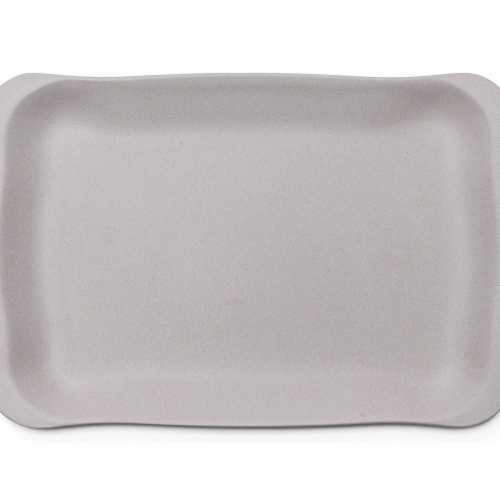 Bamboozle BZ0297ST 12 x 8 in. Sandwich Tray, Dove Perspective: front