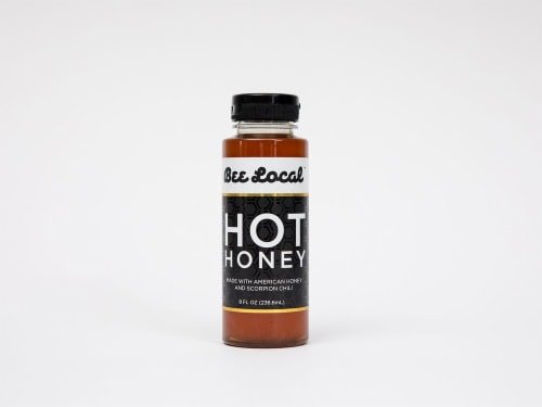 Bee Local Hot Honey Perspective: front