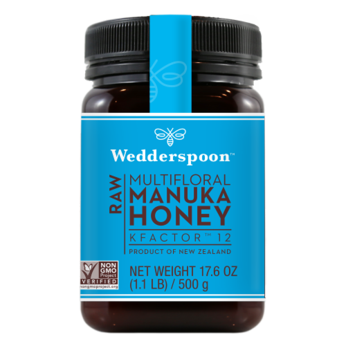 Wedderspoon Raw Manuka Honey Perspective: front