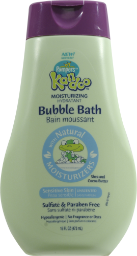 Kandoo Sensitive Moisturizing Bubble Bath Perspective: front