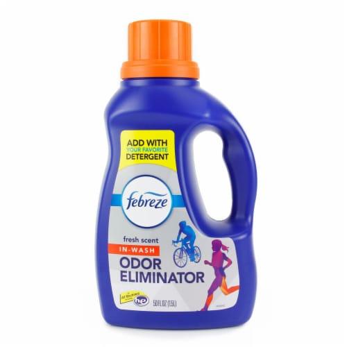 Febreze In-Wash Odor Eliminator Fresh Scent Detergent Perspective: front
