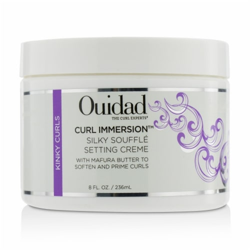 Curl Immersion Silky Souffle Setting Creme by Ouidad for Unisex - 8 oz Cream Perspective: front