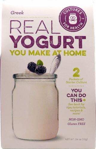 Cultures For Health  Real Yogurt Starter Culture   Greek Perspective: front