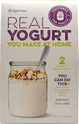 Cultures For Health  Real Yogurt Starter Culture   Bulgarian Perspective: front