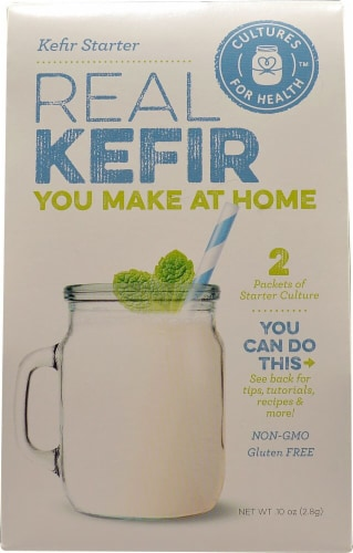 Cultures For Health Real Kefir Starter Culture - 2 Packets Perspective: front