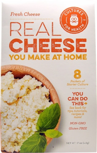 Cultures For Health  Real Cheese Starter Culture   Fresh Cheese Perspective: front