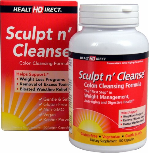 Health Direct  Sculpt n' Cleanse® Perspective: front
