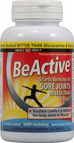 Health Direct BeActive Capsules Perspective: front
