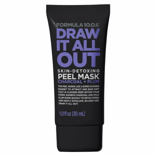Formula 10.0.6 Draw It All Out Skin-Detoxing Peel Mask Perspective: front