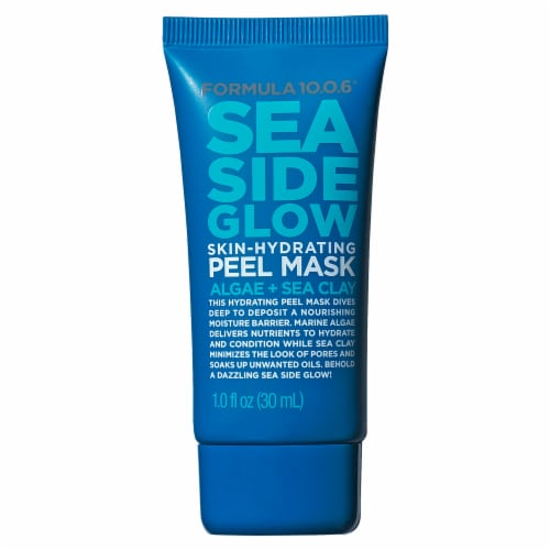 Formula 10.0.6 Sea Side Glow Skin-Hydrating Peel Mask Perspective: front