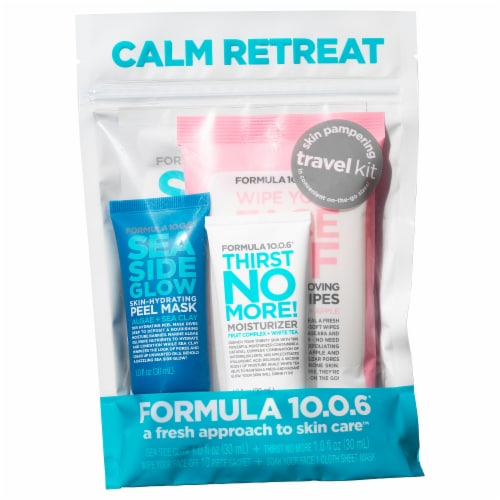 Formula 10.0.6 Calm Retreat Travel Kit Perspective: front