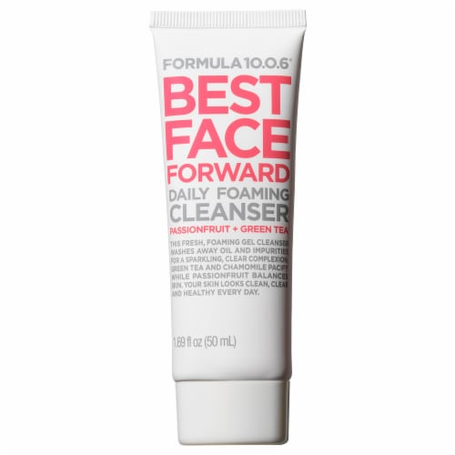 Formula 10.0.6 Best Face Forward Daily Foaming Cleanser Perspective: front