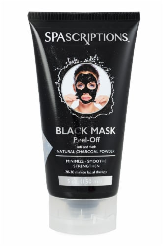 Spascriptions Peel Off Black Mask Perspective: front