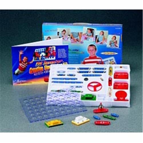 Kid Inventor K-120 Basic Electronics Kit - 120 Projects Perspective: front