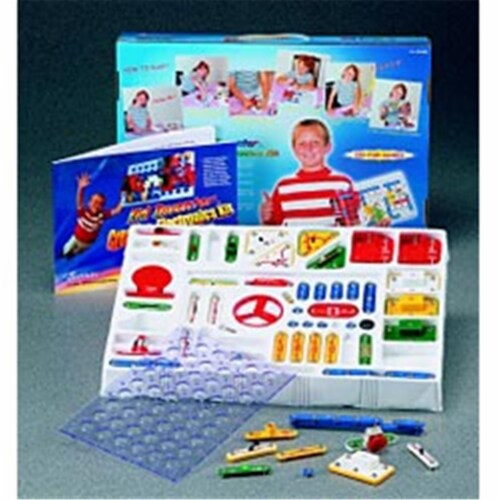 Kid Inventor K-320 Advanced Electronics Kit - 320 Projects Perspective: front