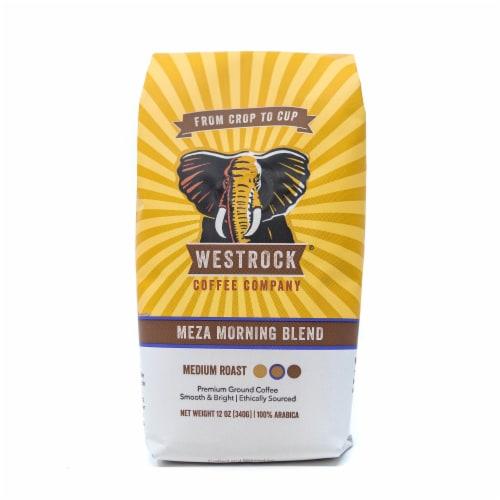 Westrock Coffee Company Meza Morning Medium Roast Ground Coffee Perspective: front