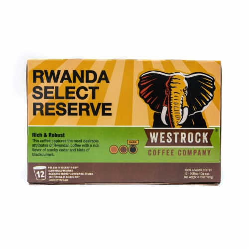 Westrock Coffee Rwanda Select Reserve Single Serve Cups Perspective: front