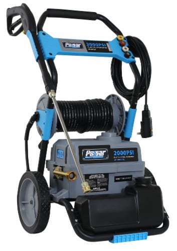 Pulsar Electric Pressure Washer with Hose Reel Perspective: front