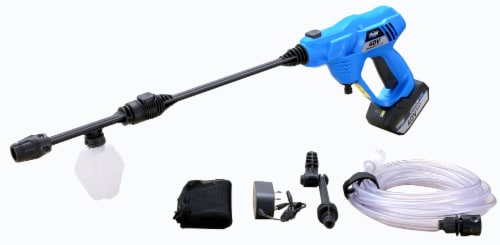 Pulsar 520 PSI 40-Volt Max Cordless Pressure Washer - Blue Perspective: front